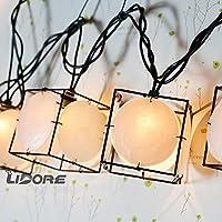 Seashell String Lights Outdoor : Amazon.com: Sea Shell string lights: Home & Kitchen