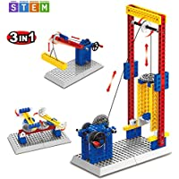 SEIGNEER 3 in 1 Mechanical Engineering Lift Building Set...