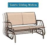 GOLDSUN Outdoor Swing Glider Chair Patio Swing