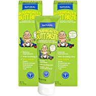 Boudreaux's Butt Paste Diaper Rash Ointment | Natural | 4 oz. Tube | Pack of 2 | Paraben & Preservative Free