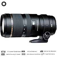 Tamron SP 70-200mm F/2.8 DI VC USD Telephoto Zoom Lens For Nikon (AFA009N-700) - (Certified Refurbished)