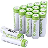 Rechargeable AA Batteries(16-Counts) Lumsing Pre-charged AA 2850mAh Ni-MH Batteries