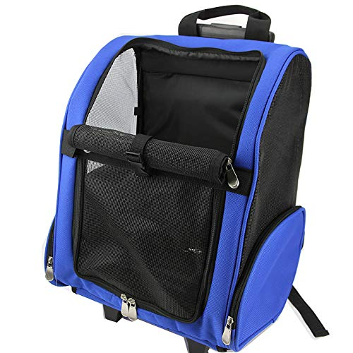 bluee L bluee L JINYIDIAN Pet Backpack, Portable, Transparent, Cat, Space Capsule, Shoulder, Cat Cage, School Bag