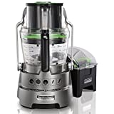 Hamilton Beach Professional 70825C Stack and Snap Dicing Food Processor, Stainless Steel