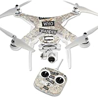 Skin For DJI Phantom 3 Standard – Who Wander | MightySkins Protective, Durable, and Unique Vinyl Decal wrap cover | Easy To Apply, Remove, and Change Styles | Made in the USA