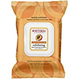 Burts Bees Face Wipes Burt's Bees Facial Cleansing Towelettes, Peach and Willow Bark, 25 Count