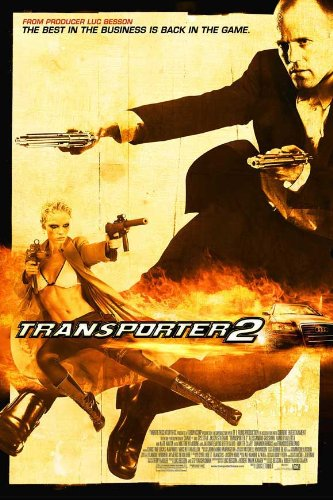 Transporter 2 Flicks Poster (27 x 40 Inches - 69cm x 102cm) (2005) -(Jason Statham)(Amber Valletta)(Hunter Clary)(Jeff Hunting)(Jay Amor)
