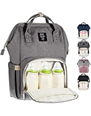 Diaper Bag Multi-Function Waterproof Travel Backpack Nappy Bag for Baby Care with Insulated Pockets, Large Capacity, Durable