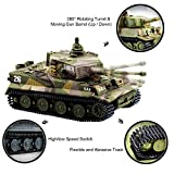 Cheerwing 1:72 German Tiger I Panzer Tank Remote