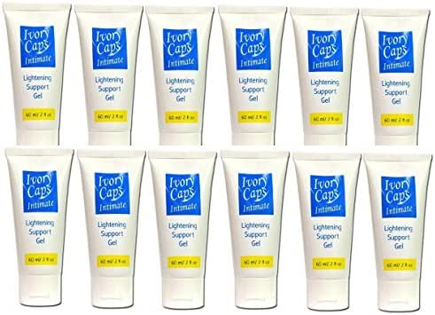 (Pack of 12) Ivory Caps Intimate Lightening Support Gel