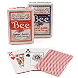 Bee Jumbo Index Playing Cards(Colors May Vary)
