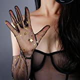 DooWay Extra Long Lace TULLE GLOVES TOUCHSCREEN