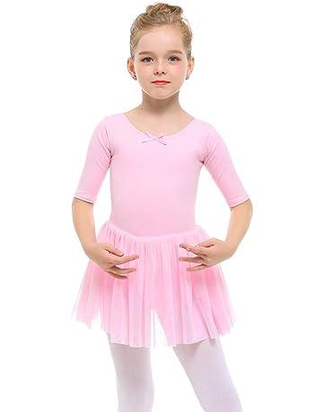 a903c22e2 STELLE Toddler/Girls Cute Tutu Dress Leotard for Dance, Gymnastics and  Ballet