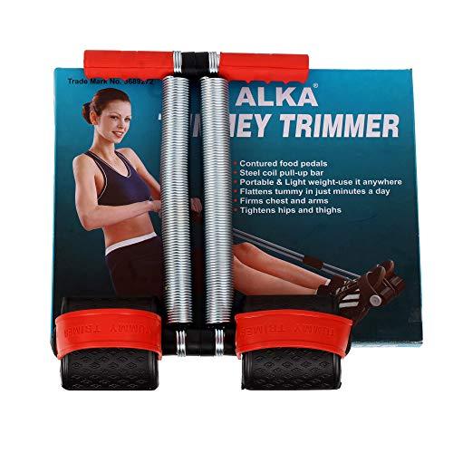 ALKA Double Spring Tummy Trimmer for Men and Women (Red & Black) (B088RMQ3KZ) Amazon Price History, Amazon Price Tracker