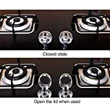 6PCS Child Protection Gas Cooker Oven Stove Switch