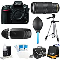 Nikon D810 36.3MP 1080p HD DSLR Camera Body with 70-200mm f/4G ED VR Pro Lens Bundle