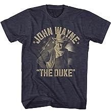 John Wayne Icon Actor American The Duke Legend Western Adult T-Shirt Tee