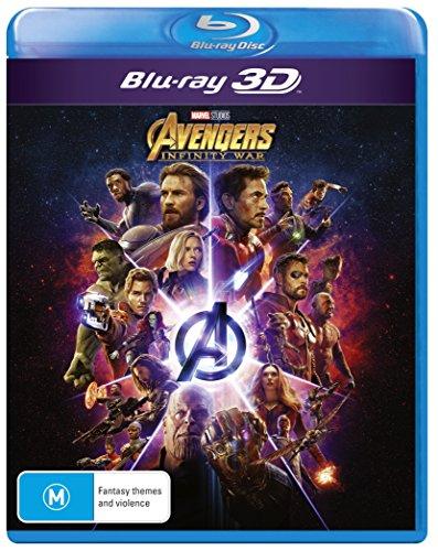 Avengers Infinity War 3D Blu-ray | Region Free