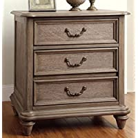 247SHOPATHOME Idf-7611N, nightstand, Oak