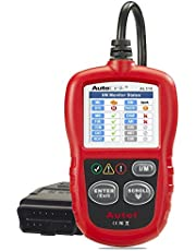 Autel Maxilink ML619 OBD 2 Reader Can Bluetooth Scanner Diagnostic Tool Turns Off Engine Light MIL and ABS/SRS Warning Lights
