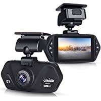 Oasser Car Camera Dash Cam for Cars Video Recorder FHD with 1920x1080P 2.7 LCD 170°Wide Angle Super Night Vision G-Sensor Loop Recording Motion Detection