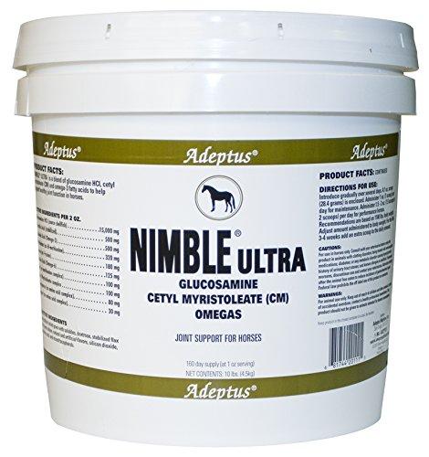 Adeptus Nutrition Nimble Ultra EQ Joint Supplements, 10 lb. 10 x 10 x 10