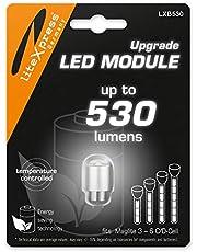 LiteXpress LXB530 LED Upgrade Module 530 Lumen voor 3-6 C/D-Cell Maglite fakkels