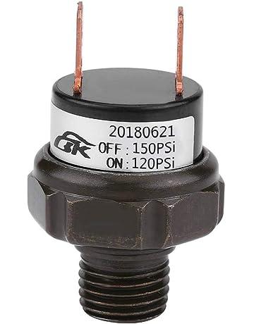 Wadoy UK/_AA877 set di manopole in alluminio per la regolazione di aria calda e condizionata per il climatizzatore dell/'auto