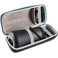 BOVKE Protective Case for Bose SoundLink Revolve+ Bluetooth Speaker Hard EVA Shockproof Case Carrying Travel Storage Pouch Cover Bag, Black