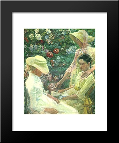 Trio fleuri 20x24 Framed Art Print by Jan - Framed Fleuri