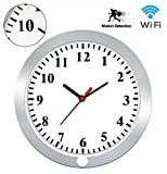 KAMRE HD 1080P WiFi Wall Clock Hidden Spy Camera Support iOS/Android/PC Remote Real-time Video Motion Detection Alarm