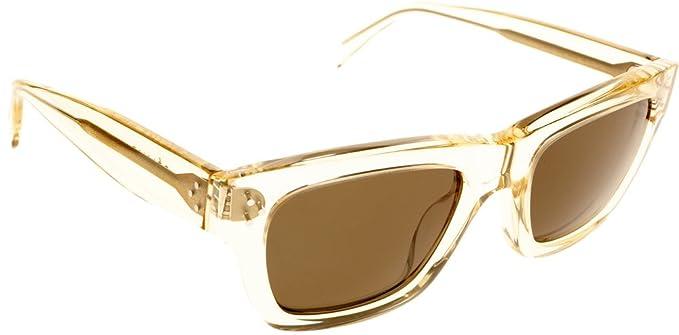 Amazon.com: Celine 41732/S sunglasses-0 F40 Champán (1E ...