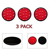 3-Pack Ramtech 65mm 3M VHB Car Vehicle Dash Dashboard Adhesive Sticky Suction Cup Mount Disc Disk Pad For GPS / Mobile Cell Phone / Car DVR / MP4 / Tablet PC / Car DVR / MP4 / E-book etc. - DMD65