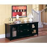 Martin Furniture Tansley Landing Black Storage Credenza