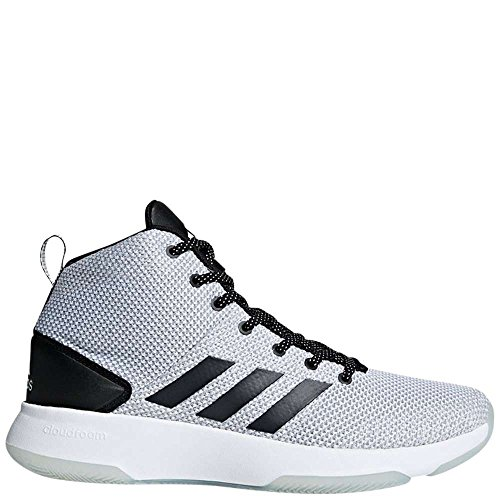 0af479fe00aec Adidas Neo Men's CF Executor Mid Basketball-Shoes, White/Black/Grey ONE,  11.5 Medium US