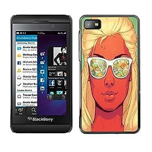 Dragon Case - FOR Blackberry Z10 - have strong heartbeat - Caja protectora de pl??stico duro de la cubierta Dise?¡Ào Slim Fit