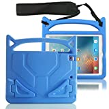 iPad mini Case - FUQUN 7.9 inch Kids Shockproof Drop Proof Children Lanyard Cover, Lightweight EVA Materail Protective Bumper with Stand for Apple iPad mini2/ iPad mini3 / iPad mini4 - blue