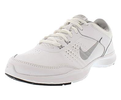 a8fc9aec37325 Nike Women s Core Flex 3 Casual Sneaker Shoe 724866 101 White Metallic  Silver (11 M