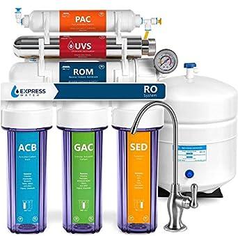 Express Water ROUV10DCG - Sistema de filtrado de agua UV ...