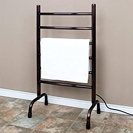 Naiture 20 Freestanding Plug In Towel Warmer In Oil Rubbed Bronze Finish