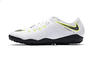 حذاء كرة القدم فانتوم 3 اكاديمي تي اف للرجال من نايكي، أبيض ليموني