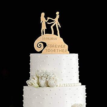 Nightmare Before Christmas Wedding.Nightmare Before Christmas Wedding Cake Topper Jack