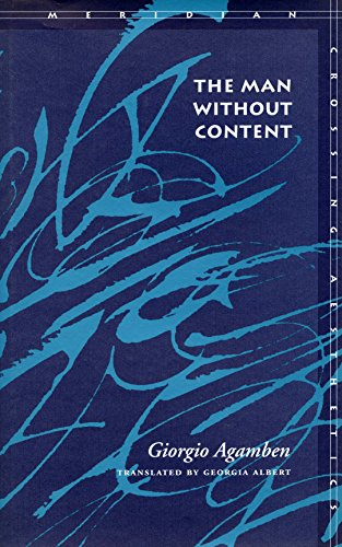 The Man Without Content (Meridian: Crossing Aesthetics)
