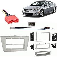 Fits Mazda Mazda6 2009-2013 Multi DIN Stereo Harness Radio Install Dash Kit