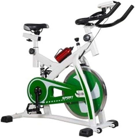 Bike Belt Drive Spin Bike, con Sensor De Pulso Manual Pantalla LCD ...