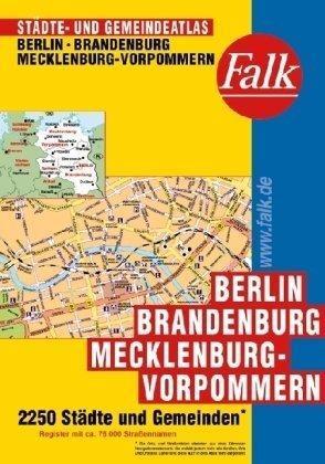 Falk Städte- und Gemeindeatlas Berlin / Brandenburg / Mecklenburg-Vorpommern Taschenbuch – 2002 Falk Verlag Ostfildern 3827906083 Deutschland