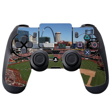 Baseball Stadiums Vinyl Decal Sticker Skin by Compass Litho for PS4 DualShock4 Controller