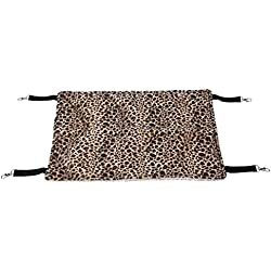 ProSelectA Wild Time Pet Cage Hammocks - Comfortable Hammocks for Cats and Small Dogs, Brown