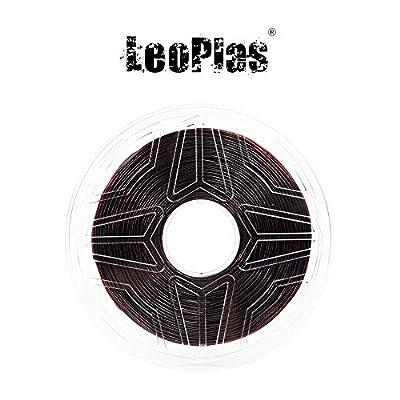 LeoPlas New Store USA Warehouse 1.75mm Soft Flexible Translucent Brown TPU Filament 16 Colors 1Kg 2.2 Pounds FDM 3D Printer Pen Supplies Printing Material Thermoplastic Polyurethanes