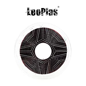 LeoPlas New Store USA Spain China Warehouse Global Shipping 1.75mm Soft Flexible Transparent Translucent Coffee Brown TPU Filament 16 Colors 1Kg 2.2 Pound FDM 3D Printer Pen Supplies Printing Material 12